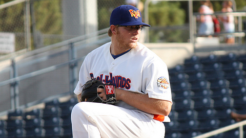 Midland's A.J. Griffin has allowed two hits over 11 scoreless innings this season.
